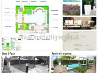 Merletti Garden Design:  tarz Bahçe