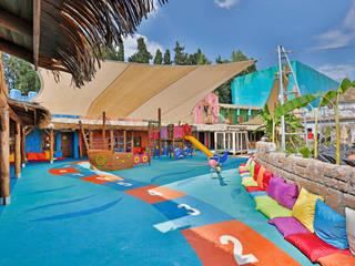 Palmiye Peyzaj Mimarlık의  호텔, 지중해