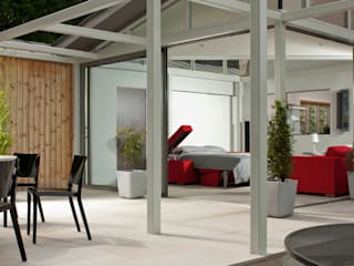 Garden Room Anexos de estilo moderno de THE STORAGE BED Moderno