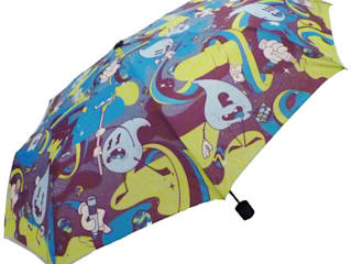 PARAPLUIE PLIANT DROPS AT WORK par dandy-frog.com