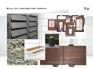 entwurf terras Ausgefallene Wohnzimmer von DIEXDESIGN Ausgefallen