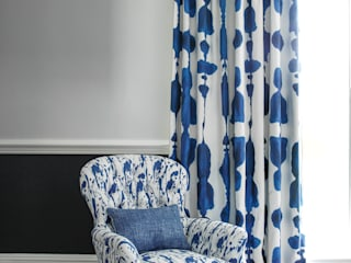 Inkat Ink blue and Splatter Ink Blue de Korla Home Moderno