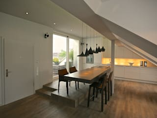 K97 - Roof Apartment for a Fashion Designer tredup Design.Interiors Modern Dining Room