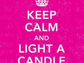Boite d'allumettes Keep Calm and Light a Candle:  de style  par LA BELLE MÈCHE