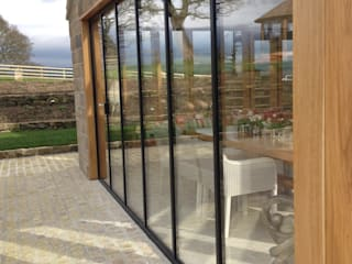 Most Popular UltraSlim Frame Colours are shades of grey:  Windows  by SunSeeker Doors