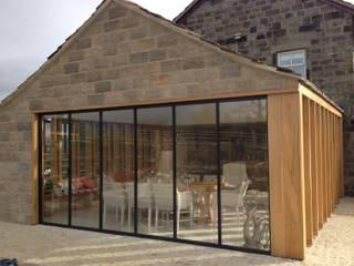 Glass & Aluminium UltraSlim Doors Looking Good with Wood SunSeeker Doors Modern windows & doors