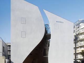 SUNWELL MUSE KITASANDO โดย タカトタマガミデザイン/TAKATOTAMAGAMI ARCHITECTURAL DESIGN โมเดิร์น