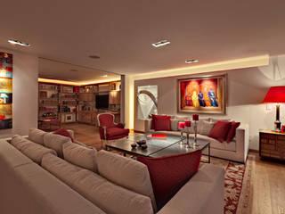Salones de estilo  de Lopez Duplan Arquitectos,