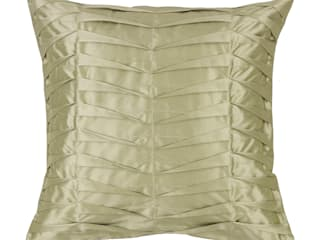 Hand Pleated Silk Cushions por Le Cocon Asiático