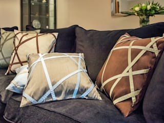 Très Chic Handmade Silk Cushions by Le Cocon