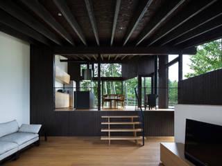 Salas modernas de 設計組織DNA Moderno