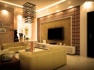 Residential Interiors: modern  by MRN Associates,Modern