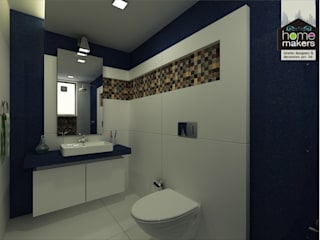 Blue Bathroom Modern bathroom by homify Modern