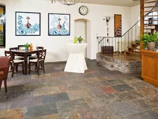 Rustic style walls & floors by Design Pierres Naturelles Rustic