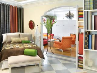 Maharam de México Classic style bedroom by usoarquitectura Classic