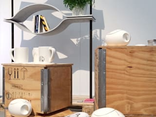 Libreria Voilà di Alessandra Scarfò Design Moderno