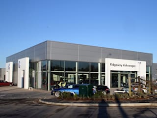 Ridgeway Milton Gate Modern car dealerships by Robin Ashley Architects Modern