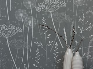 Paper Meadow in Charcoal : classic  by Hannah Nunn , Classic