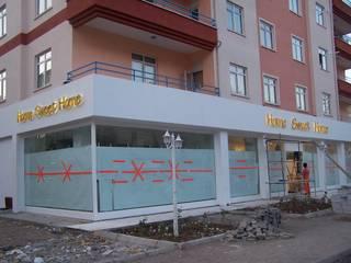 Коммерческие помещения в . Автор – EDMİMARLIK INTERIOR STUDIO, Модерн