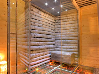 Rustic style spa by Bosc Vej s.r.l. Rustic