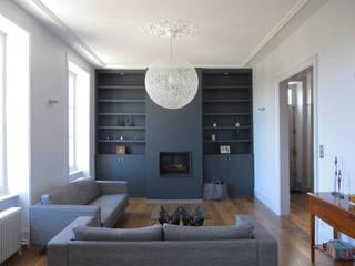 Jean-Paul Magy architecte d'intérieur Modern living room