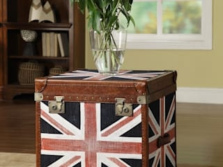 Designing with Leather Voyage Side Trunk: modern  by Locus Habitat,Modern