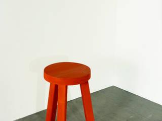 Tabouret Compagnon PM orange:  de style  par Mobilier Laloue
