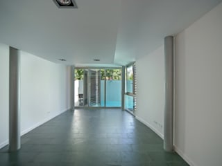 Salones modernos de JoseJiliberto Estudio de Arquitectura Moderno