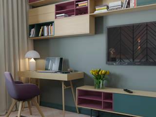 Wohnzimmer von Anna Clark Interiors, Skandinavisch