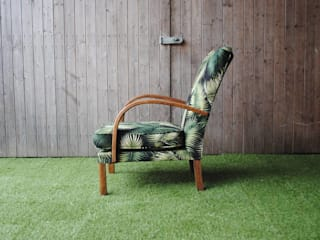 1940's Utility Palm Chair: tropical  by Sketch Interiors, Tropical