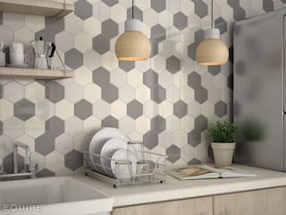 Modern kitchen by Equipe Ceramicas Modern Ceramic