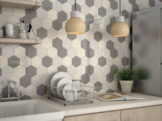 Cucina moderna di Equipe Ceramicas Moderno Ceramica