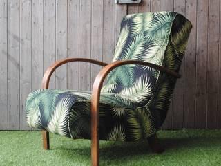 Art Deco Bentwood Palm Chair von Sketch Interiors Tropisch