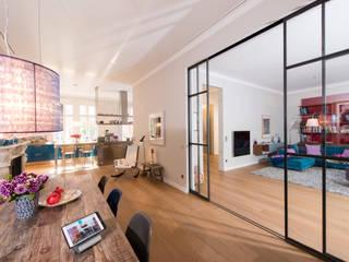 Salas multimedia de estilo  por Casa Integra - Solutions & HomeCinema, Moderno
