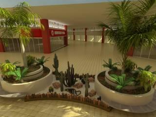 Jardin de style  par VIVERO CUMBRES ELITE, Moderne