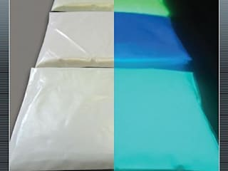 Transforming artwork using Eli-Glow Photo luminescent Pigments de Eli-Chem Resins U.K Ltd Moderno
