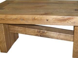 """""""Ein starkes Stück Natur"""" - Couchtisch von Holz-Design Schlichter Rustikal"""
