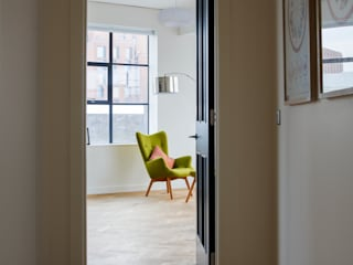 Drakes Headquarters, 76 East Road - Residential Flats Modern living room by Hawkins/Brown Modern