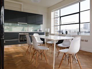 Drakes Headquarters, 76 East Road - Residential Flats:  Kitchen by Hawkins/Brown