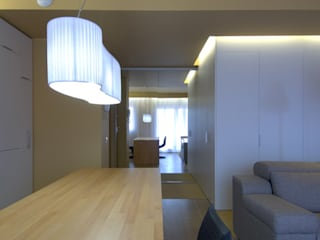 Salón en San Fausto.. Salones de estilo moderno de Estudio TYL Moderno