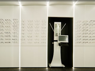 Optika Begi.. Espacios comerciales de estilo moderno de Estudio TYL Moderno