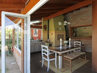 Graça Brenner Arquitetura e Interiores Rustic style houses