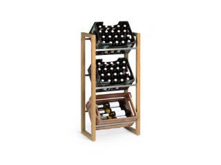 Getränkekistenregal FRITZ: modern  von Goldau & Noelle Möbelmanufaktur,Modern