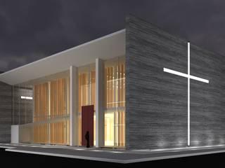 Igreja Santa Catarina por ArquiPólis Moderno