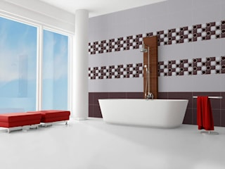 Digital Wall Tiles from India: modern  by TILES CARREAUX,Modern