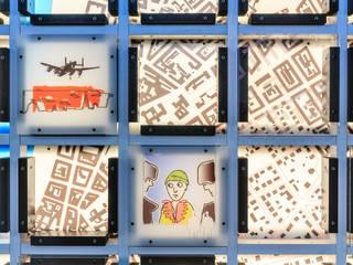 Gedächtniswand Detail 3:   von Archevolucio Lichtplanung