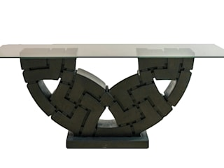 MICA Zen Sculpture Dining Table:   by Mica Gallery Ltd