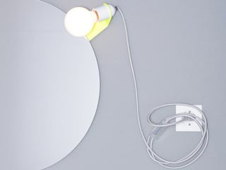 Skipper mirror clip lamp par toshi Berlin Industriel