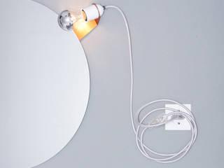 Skipper mirror clip lamp par toshi Berlin Moderne