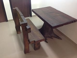 FRP Out door Antique wood style :   by G Diseno
